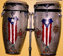Personaliza tus instrumentos musicales con una pintura original de Aslin Gonzalez