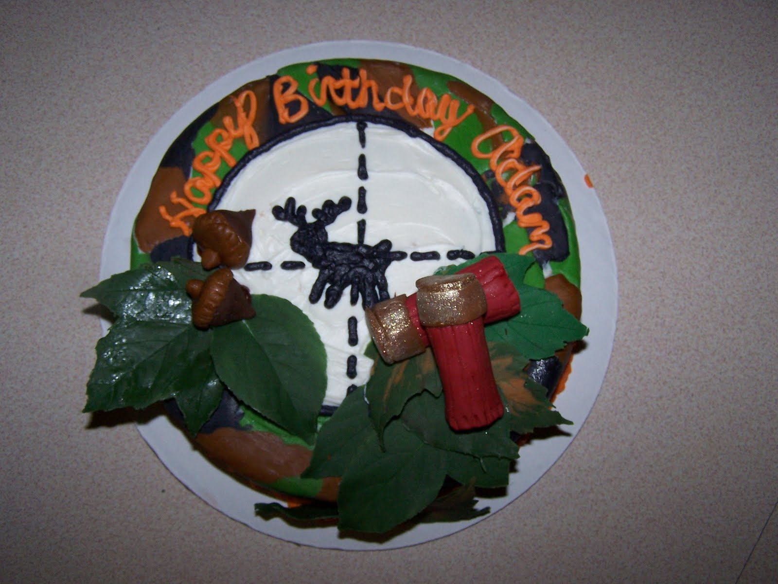 Hunting Cake Decor : Julie Daly Cakes: Hunting cake