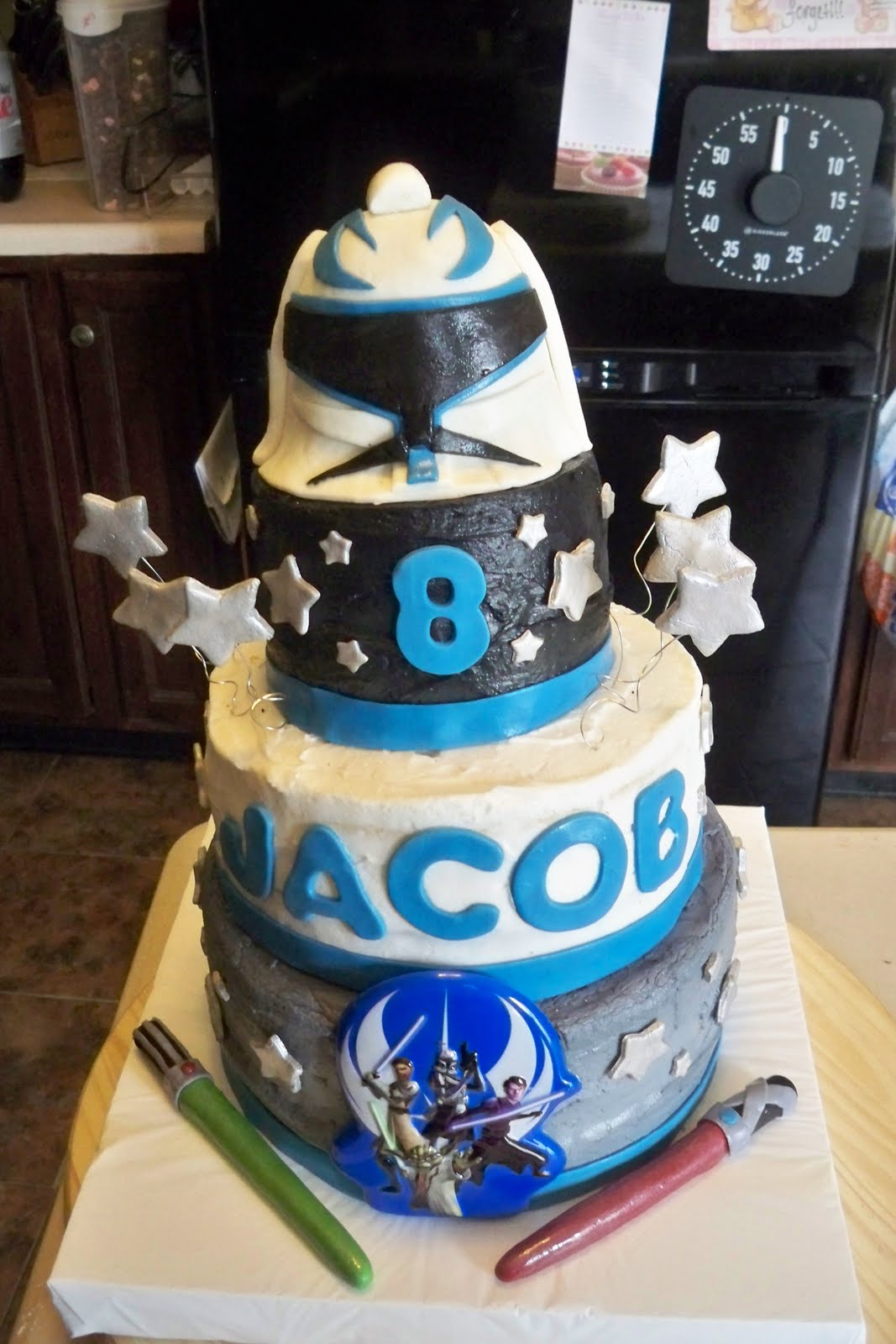 Julie Daly Cakes Star Wars Clone Wars Birthday Cake