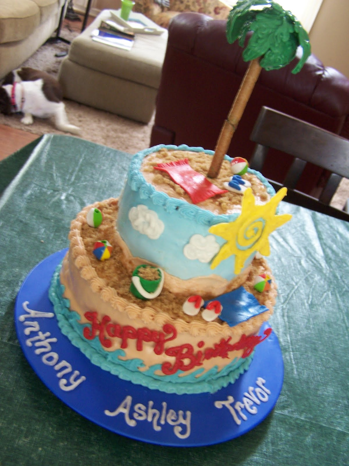 Julie Daly Cakes Beach Birthday
