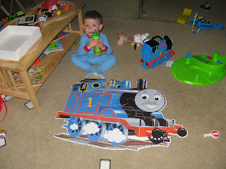 Chase is obsessed with Thomas