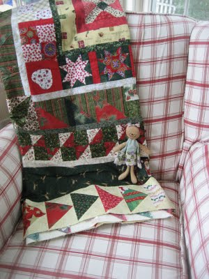[My+Christmas+quilt+at+Eileens]