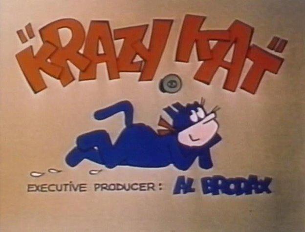 La Gata Loca [serie] una gata con gustos extraños. Krazy%2Bkat%2B1