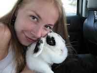Мій карликовий кролик Вафля (порода баран)