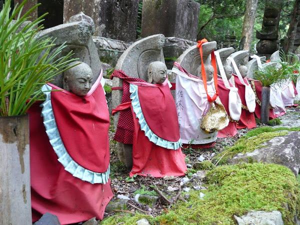 Jizo in Okunoin Cemetery