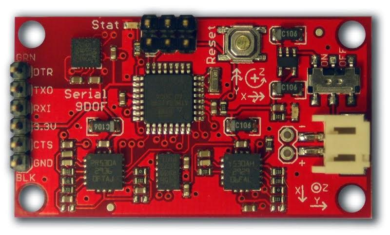 Starting with 1st IMU : a 9DOF Razor - DIY Drones