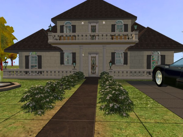 Reviewing life from head to foot the sims 2 house designs for Sims 2 home designs
