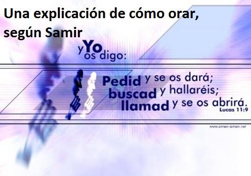 La oración, según Samir