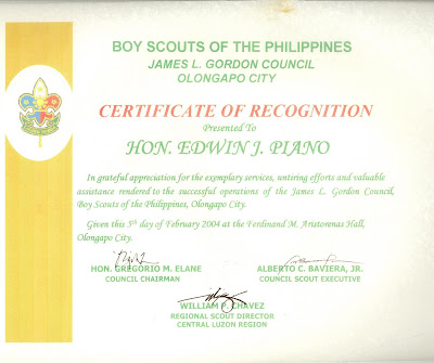 Edpiano tocp pcl jci philippines bsp certificate of recognition bsp certificate of recognition yelopaper Choice Image