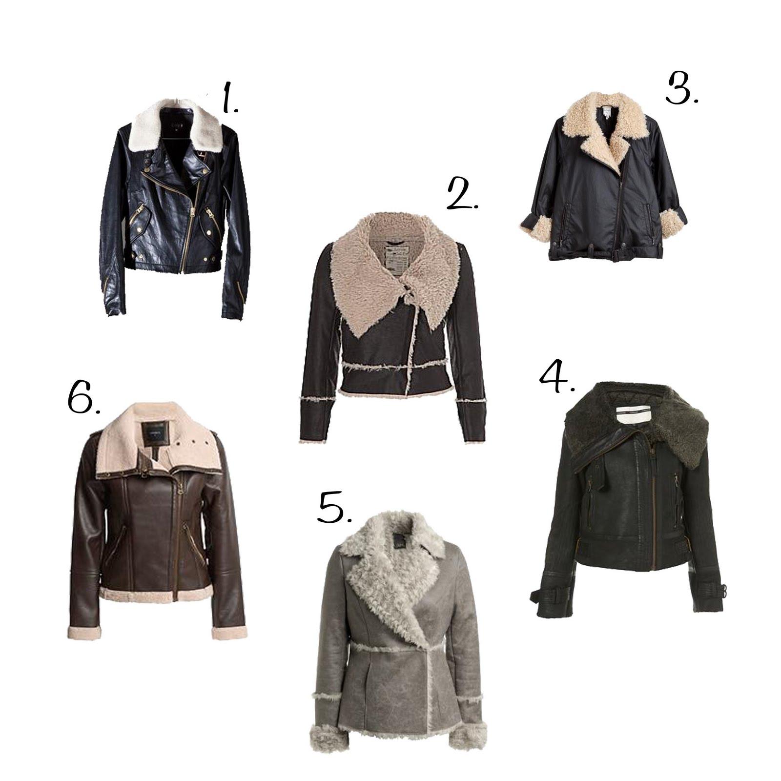 Budget Shearling jackets