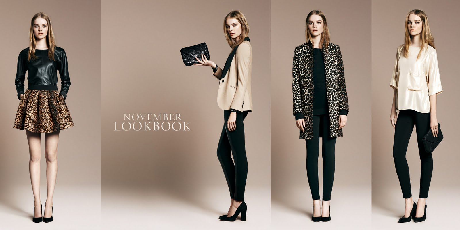 Zara Lookbook November 2010