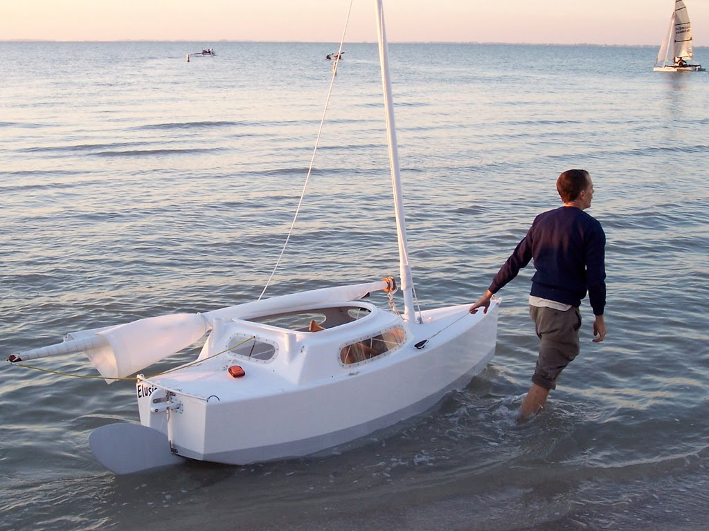 8ft microcruiser sailboat based on PDRacer hull - Page 2 ...