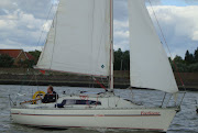 The Parker 21 was designed as a high performance trailer sailer, .