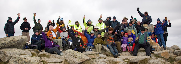 All abilities trek to the summit of Mount Kosciuszko - Australia's highest peak