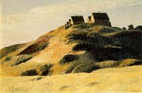 Edward Hopper's Corn Hill in Truro