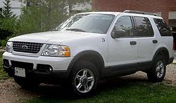 The 4 Door Explorer And Companion Mercury Mountaineer Were Redesigned Entirely In 2002 Losing All Design Similarity With Ranger Still