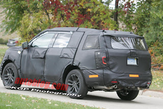 Spy Shots: Unibody 2011 Ford Explorer cometh