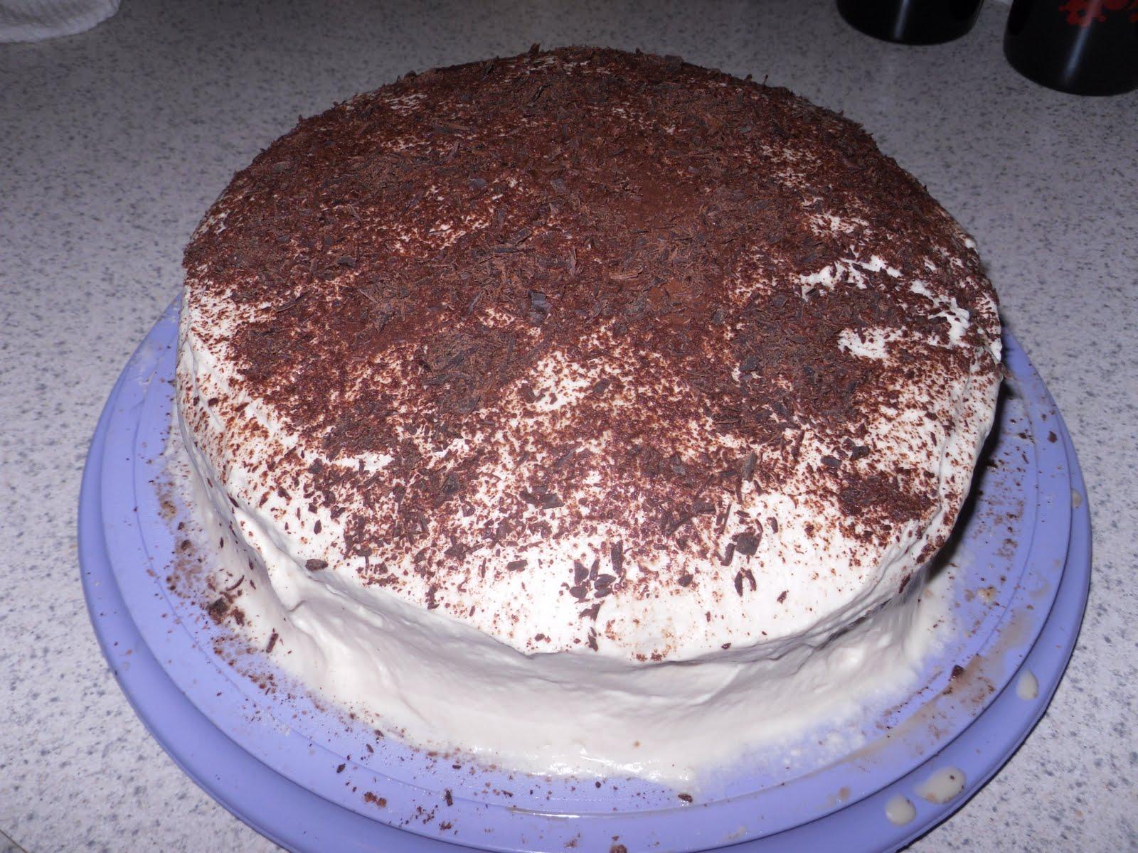 Mama's Recipe Swap: Tiramisu Layer Cake