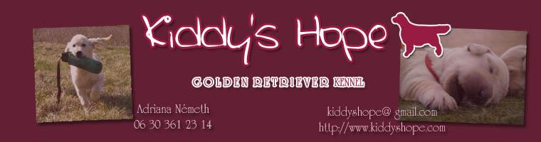 Kiddy's Hope Golden Retriever kennel