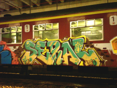 seral train writing