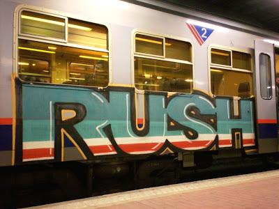 Rush graffiti