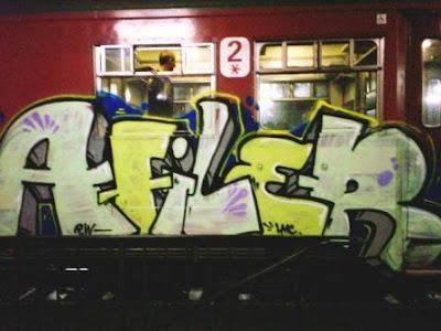 Afiler graffiti