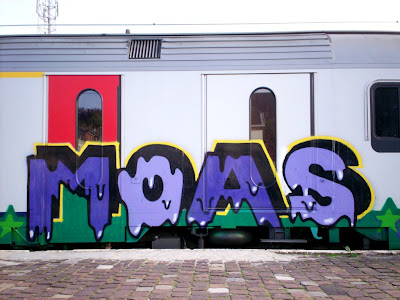 Monsters of art - Moas Crew