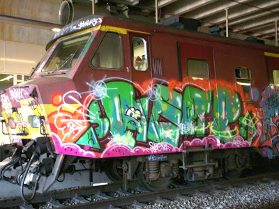 reap train graffiti