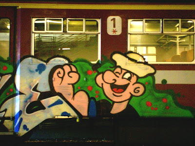 popeye same graffiti