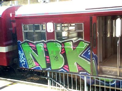 Soack NBK 156 Crew graffiti