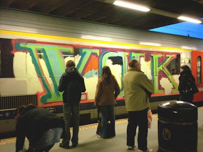 Volk graffiti