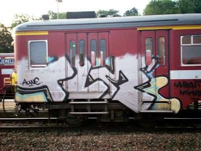 TLM Crew auwe graffiti