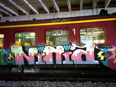 ninia graffiti barcelona
