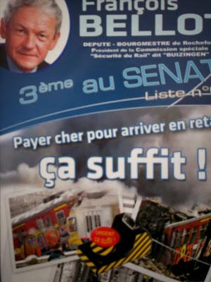 Tract electoral de Francois Bellot