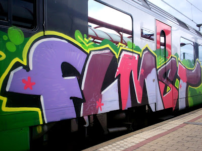 FLMST MST Paris crew graffiti