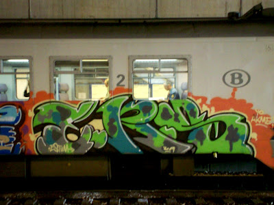 ERS graffiti crew with estum akme