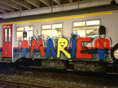 Marie graffiti