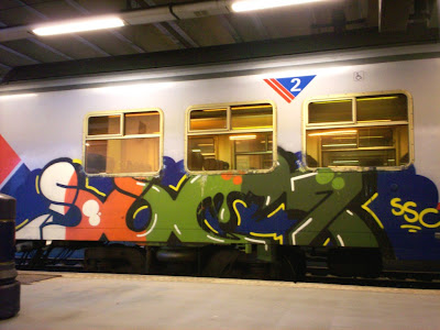 SSC Crew graffiti