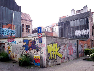Antwerp graffiti street art Rijke Beukelaar