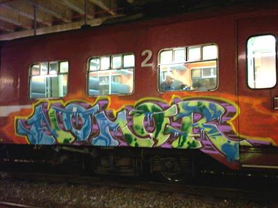 NOMOR german graffiti artist