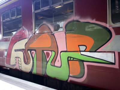 railroad graffiti artist
