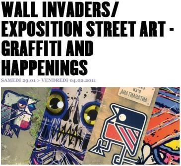 Wall invaders