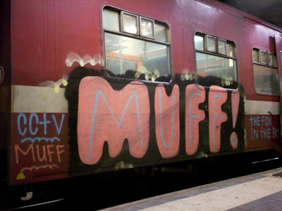 Muff cctv graffiti