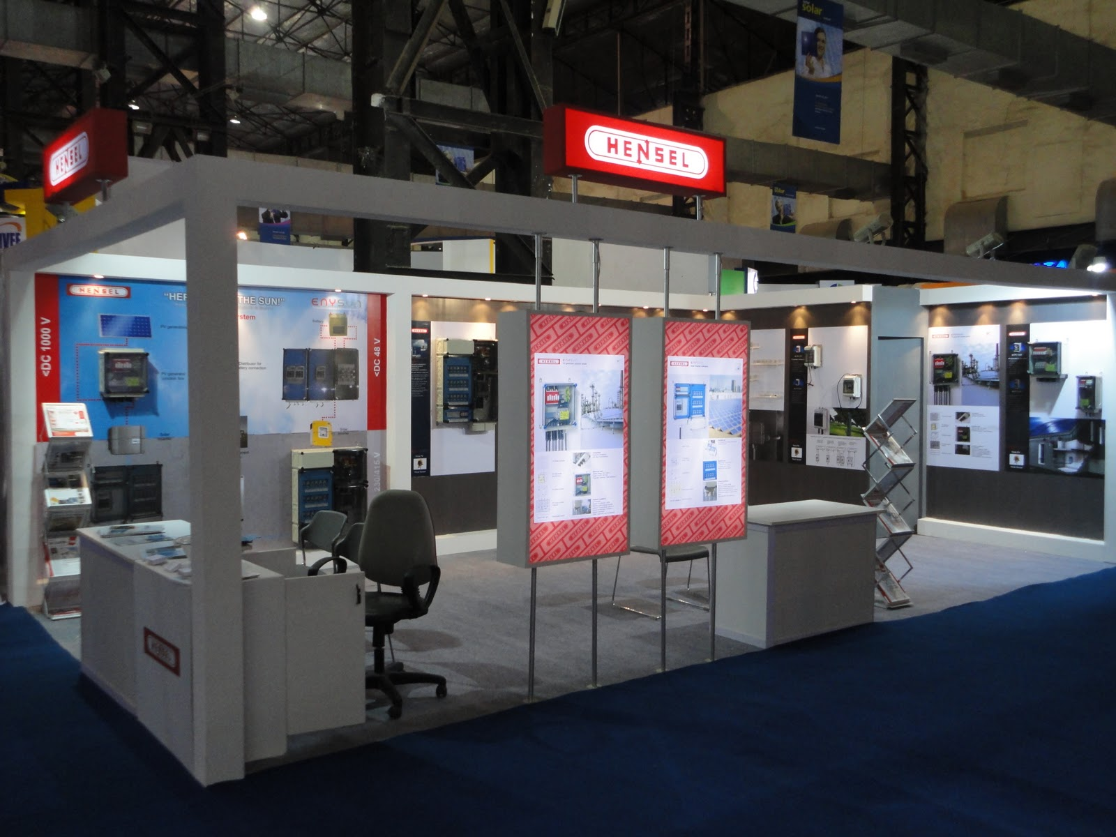 Exhibition Stall Quotation : Passion for power intersolar