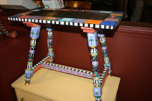 Patchwork-Quilt Table