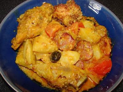 Sunflower Food Galore: Macanese style Portuguese chicken (Po Kok Gai
