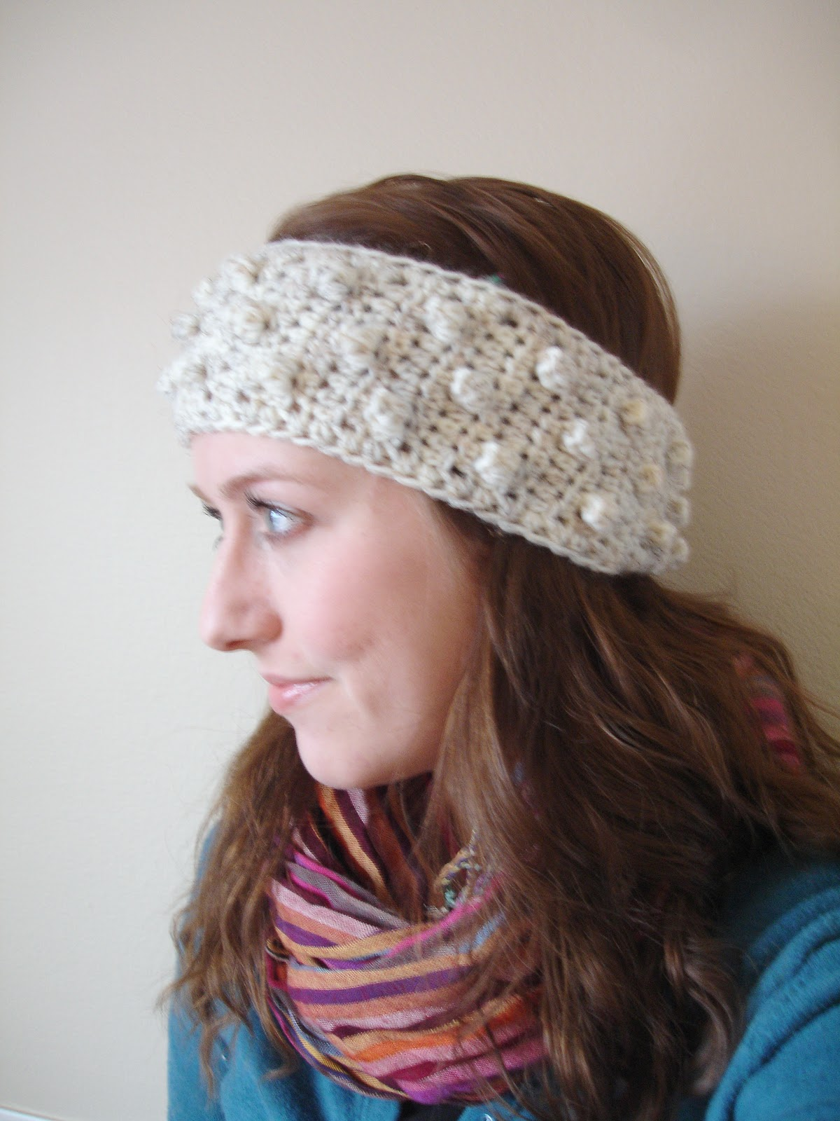 field wonderful: Bobble Headband Pattern