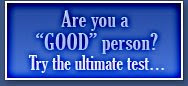 Are You a Good person