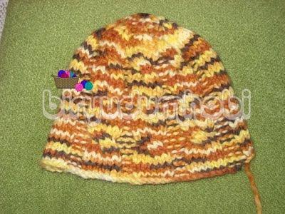 örgü şapka modeli