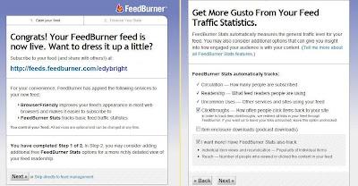 cara mendaftar FeedBurner